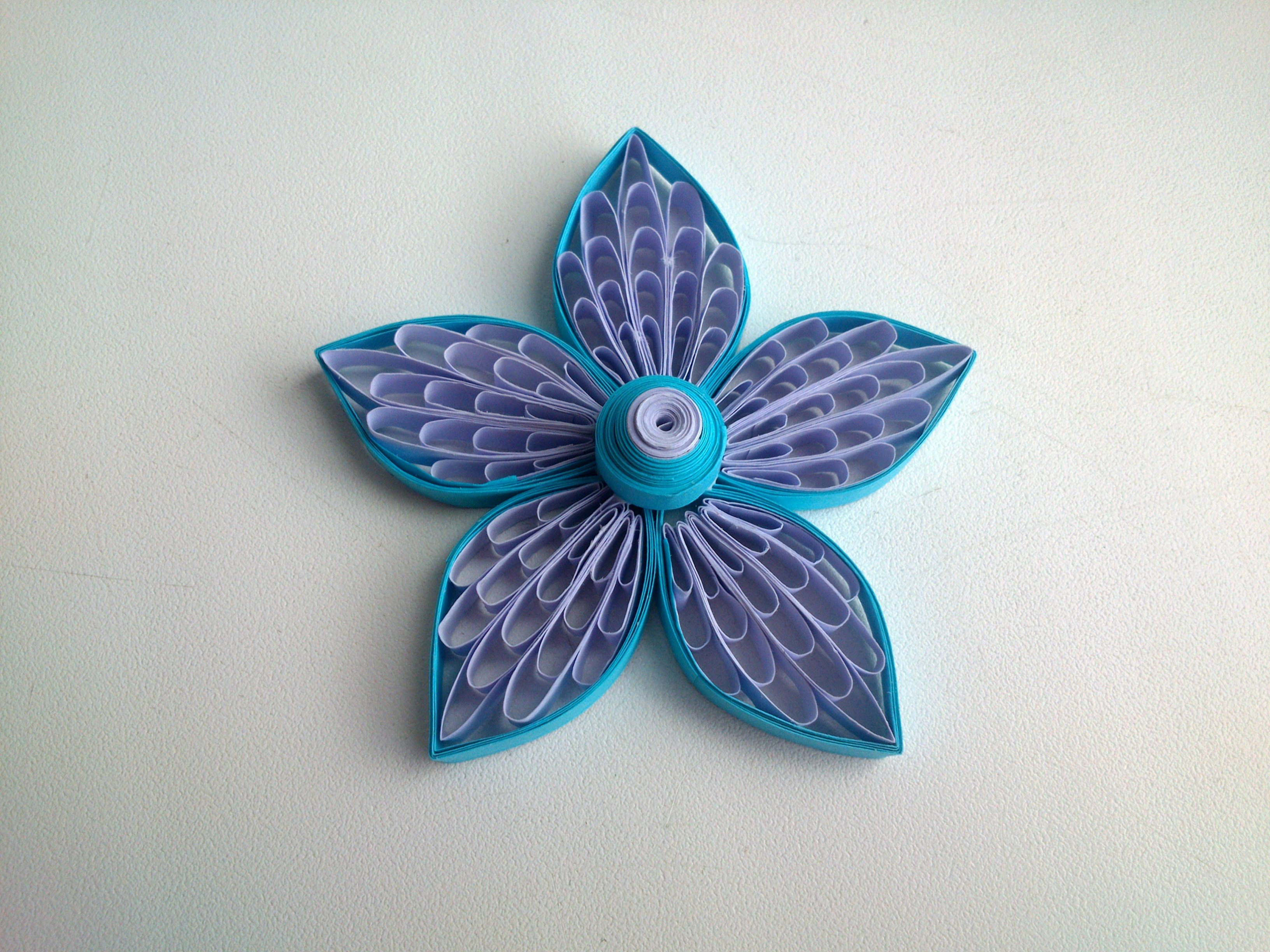 Quilling Flowers Tutorial Quilling Flowers Using A Comb All