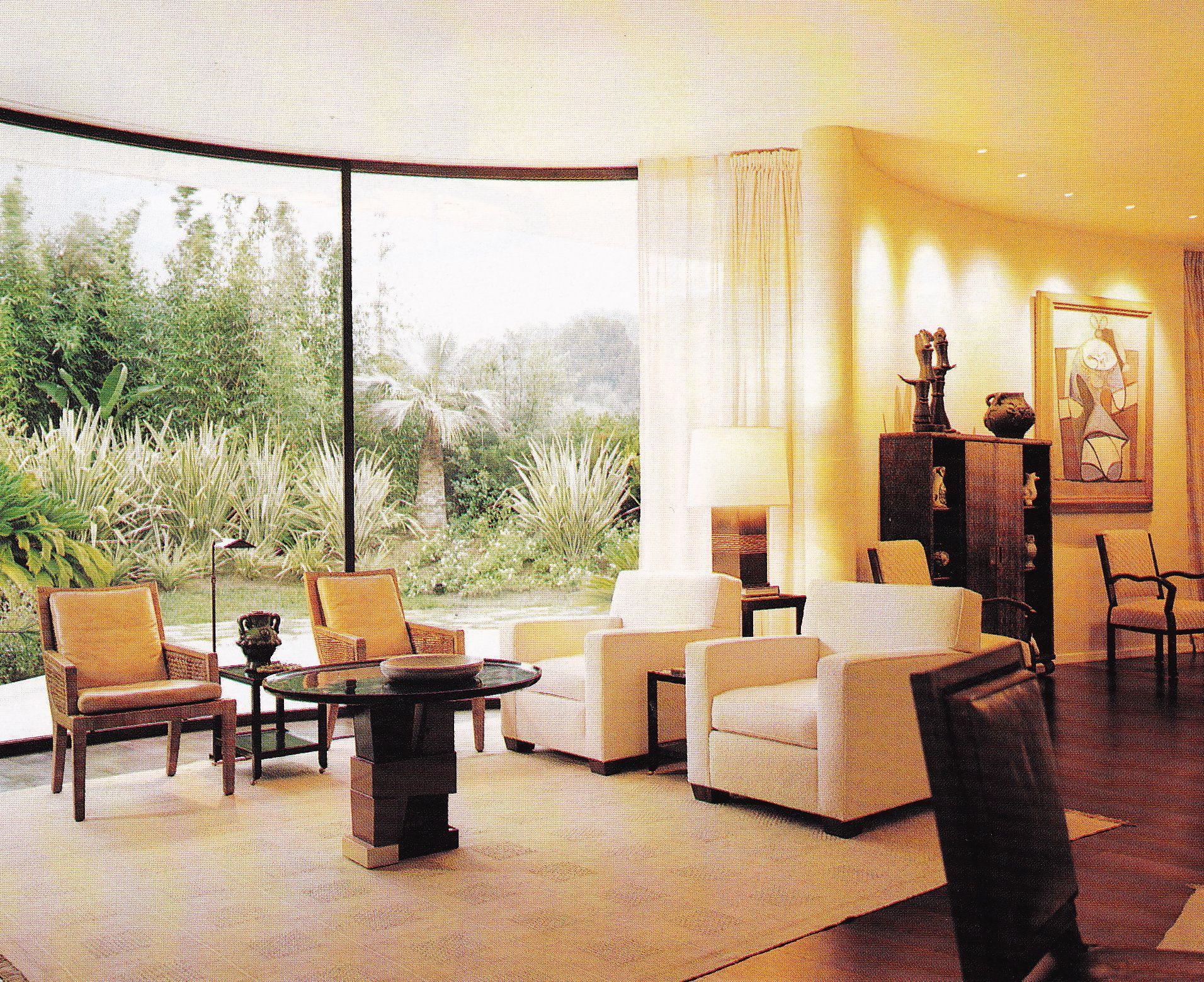 Stupell yorkie dog 3 panel decorative fireplace screen - Villa Mondadori By Oscar Niemeyer Interiors By Peter Marino