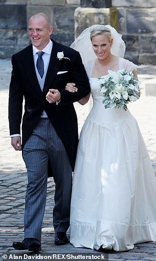 The parents-of-two (pictured) were married on 30 July 2011 at the Canongate Kirk in Edinbu...