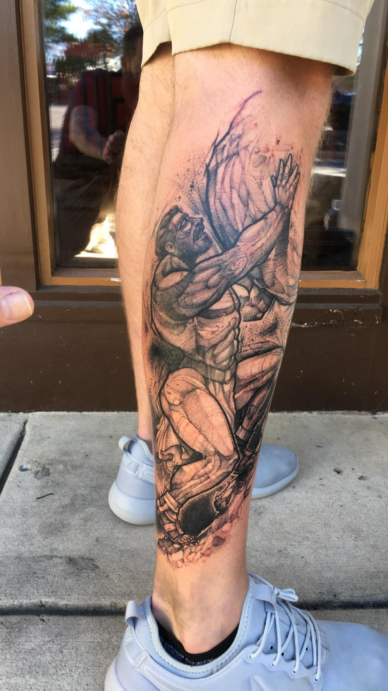Sisyphus by eddie stacy ink and dagger roswell ga