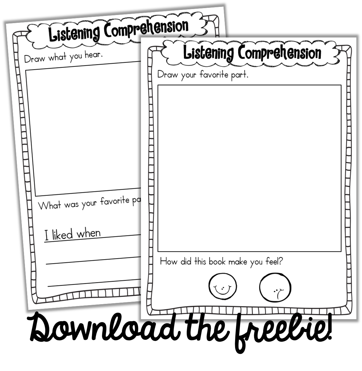 Frozen Listening Center Worksheet