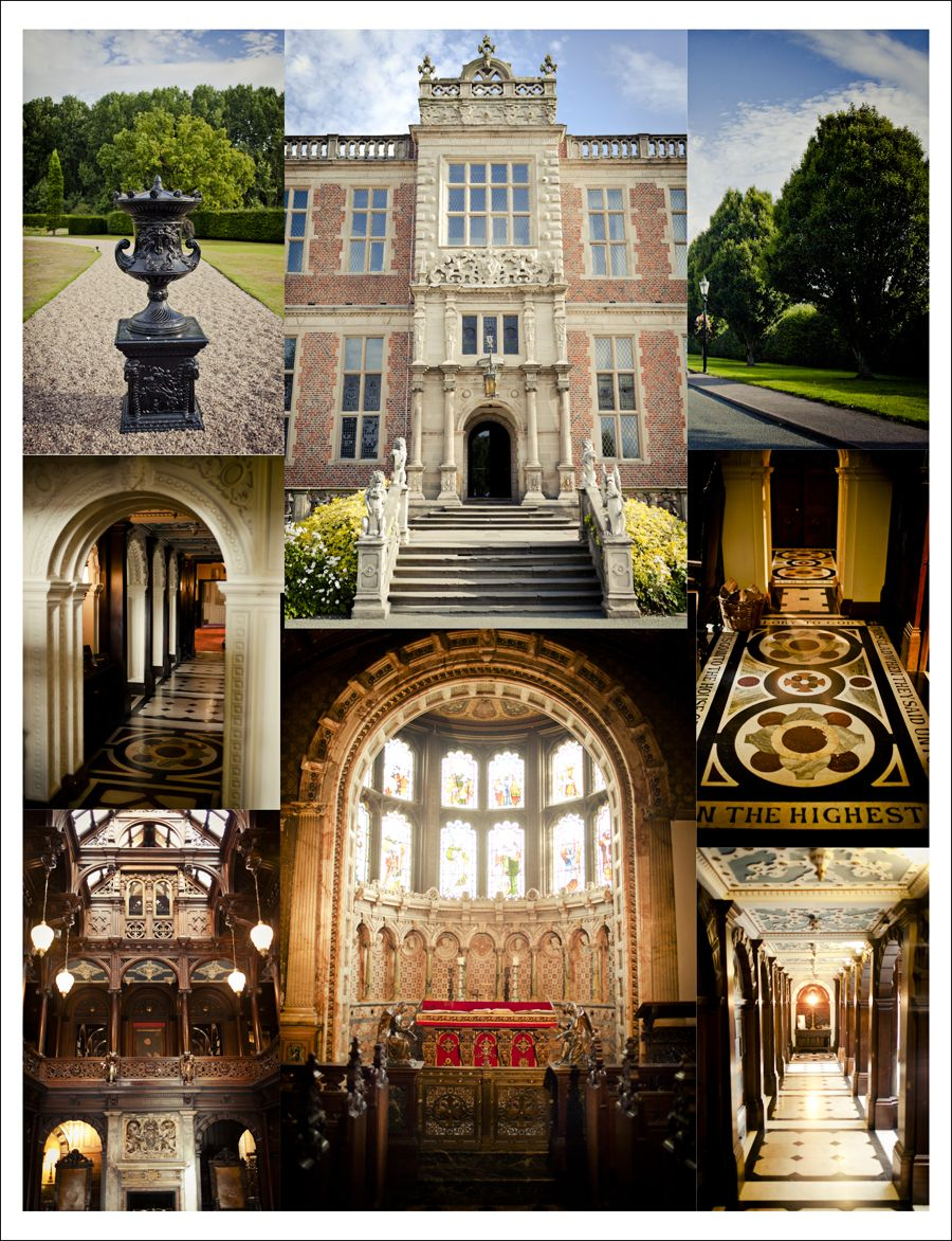 Crewe Hall is a Jacobean mansion located near Crewe Green