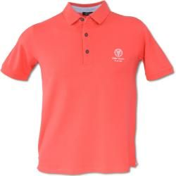 Photo of Plain-colored polo shirt, red Carlo Colucci