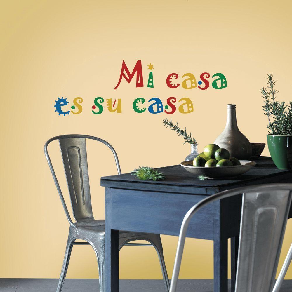 Perfect Mi Casa Es Su Casa Wall Decor Image - Art & Wall Decor ...