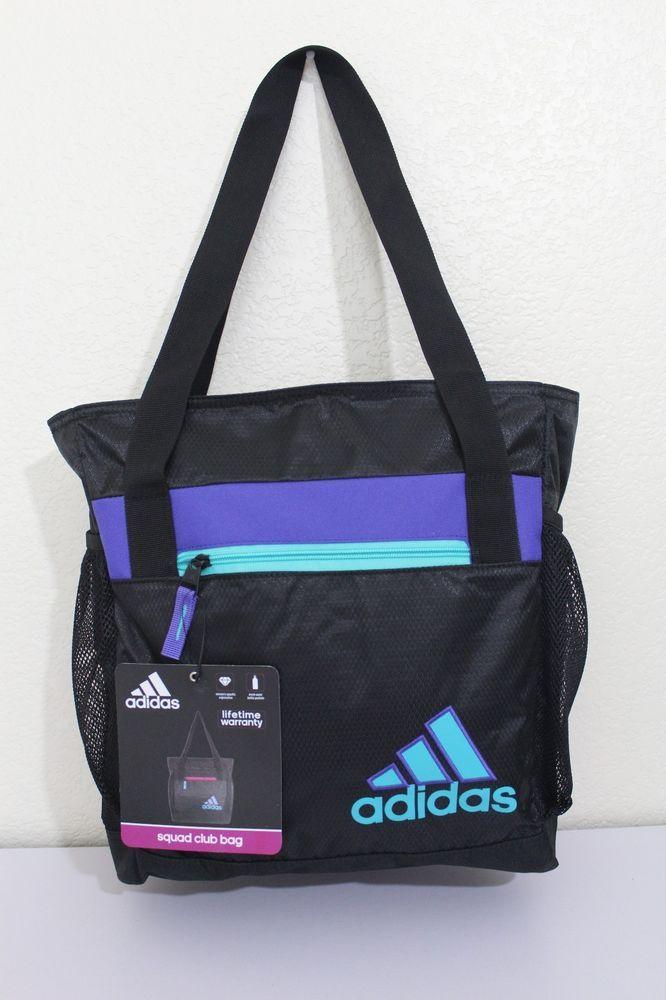 adidas squad II club bag sport gym bag women 14.5