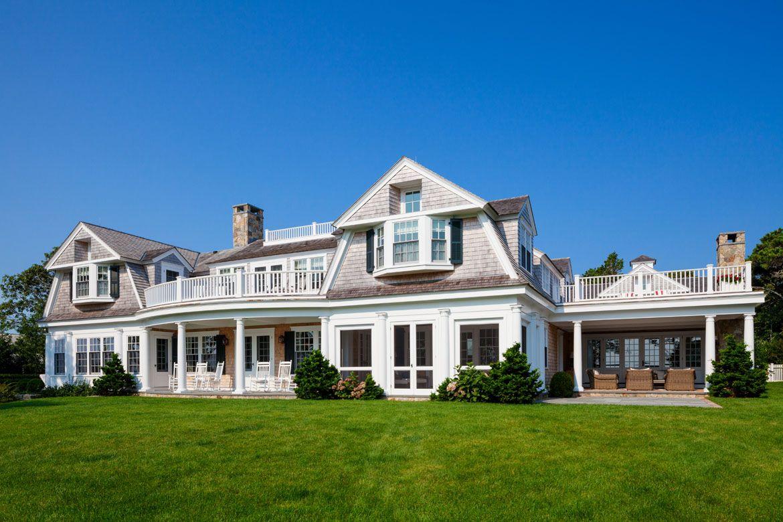 Coastal New England Harbor House