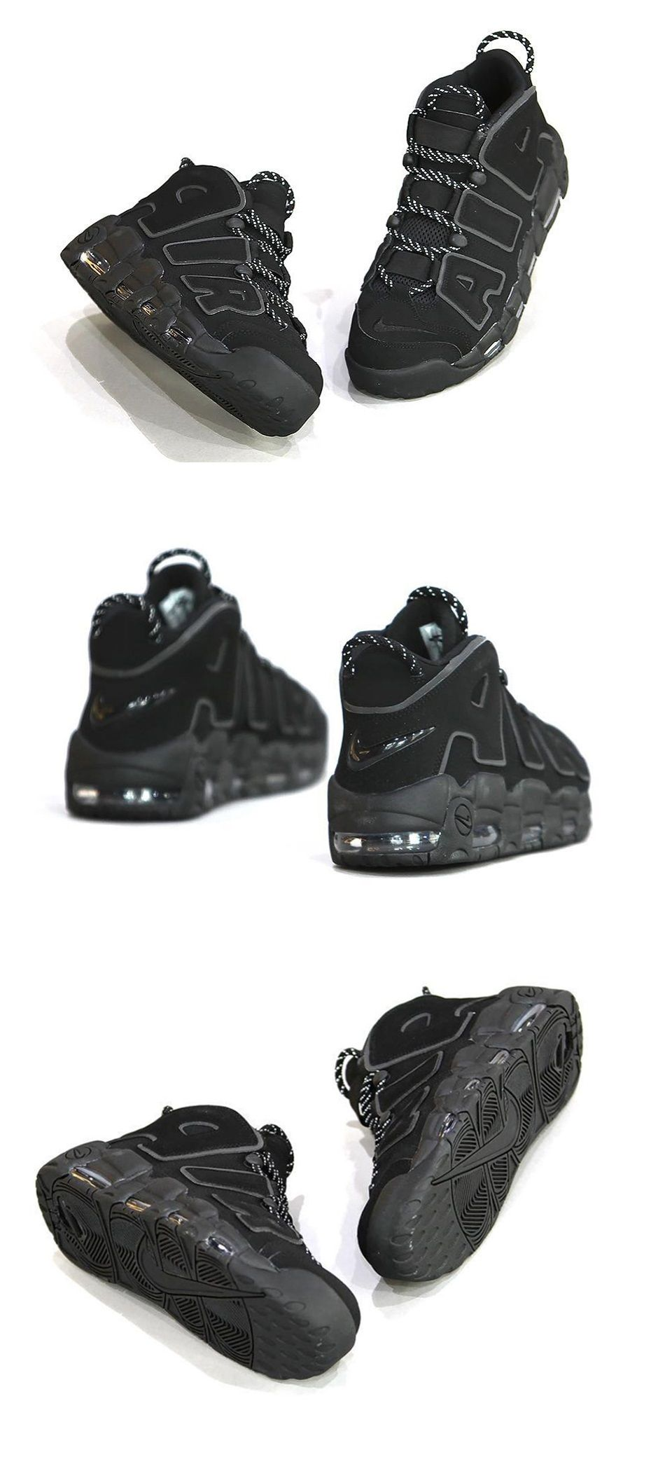 new product 90325 f7a41 Nike Air More Uptempo Black