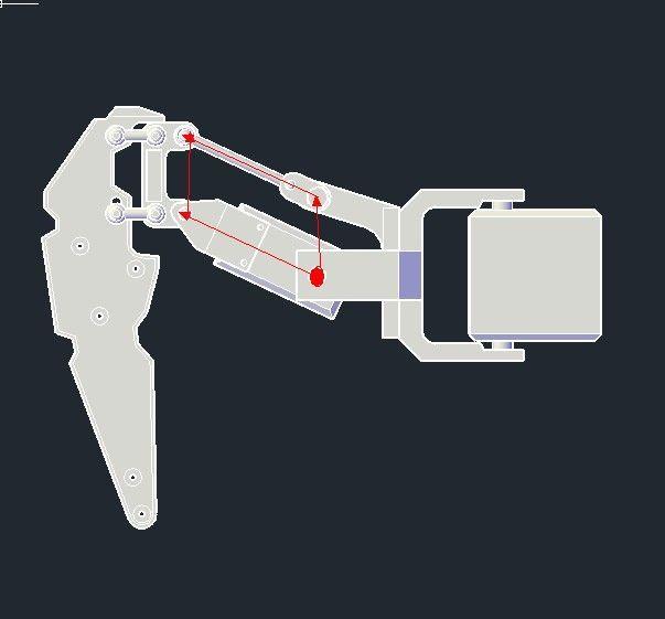 Hexapod robot based on fpga google search and