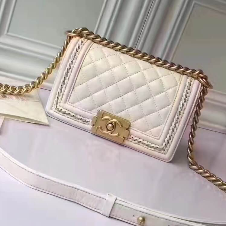aed3217c1b0e93 Chanel Bags on Sale: Chanel Small Boy Jacket Flap Bag 100% Authentic 80% Off