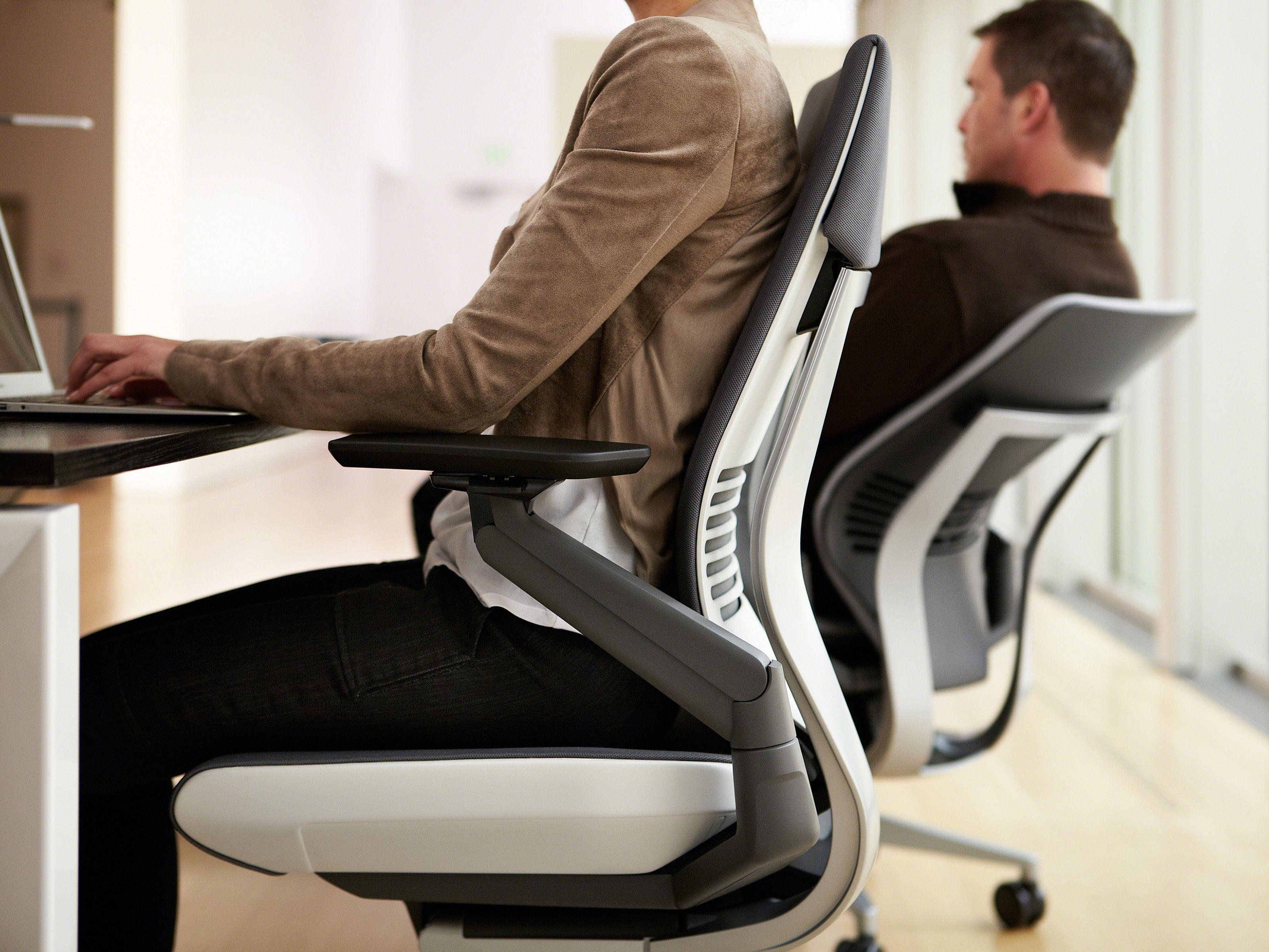 Gesture Ergonomic Office Desk Chair Steelcase Ergonomic Chair Best Chair For Posture Desk Chair