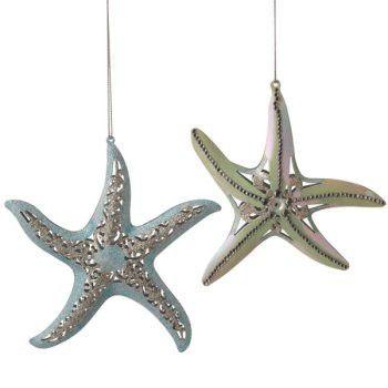 Starfish Ornament Set of 6