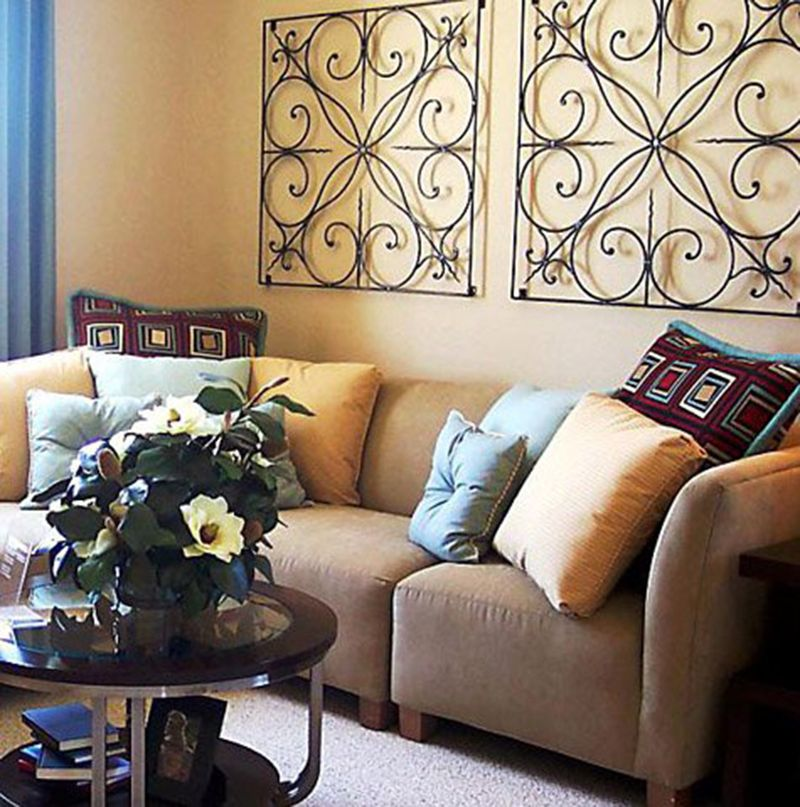 comfortable living room design with zen style ideas