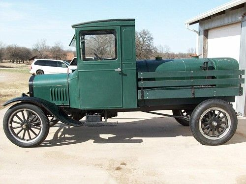 1923 Ford Model Tt Fuel Truck A Ford Models Fuel Truck Pickup