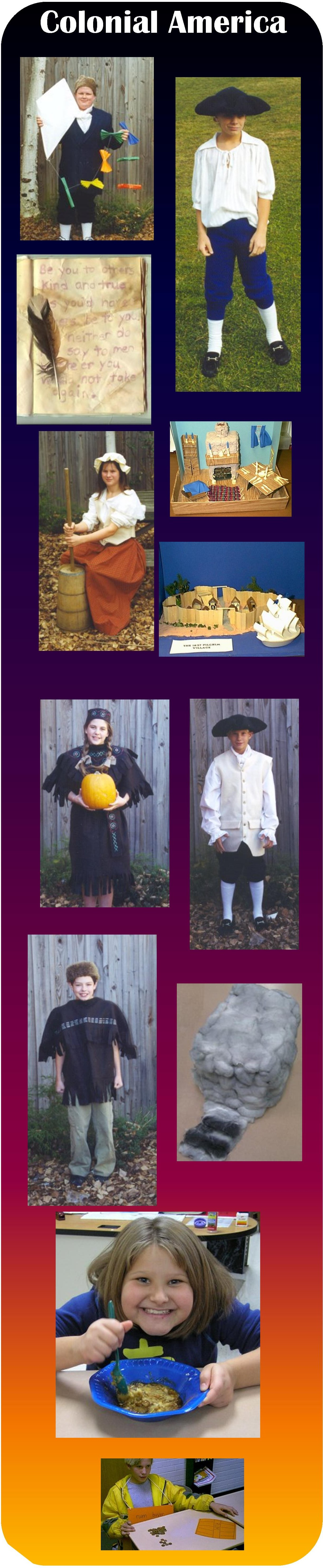 Colonial America Unit Including Fact Pages Activities And Interactive Quizzes