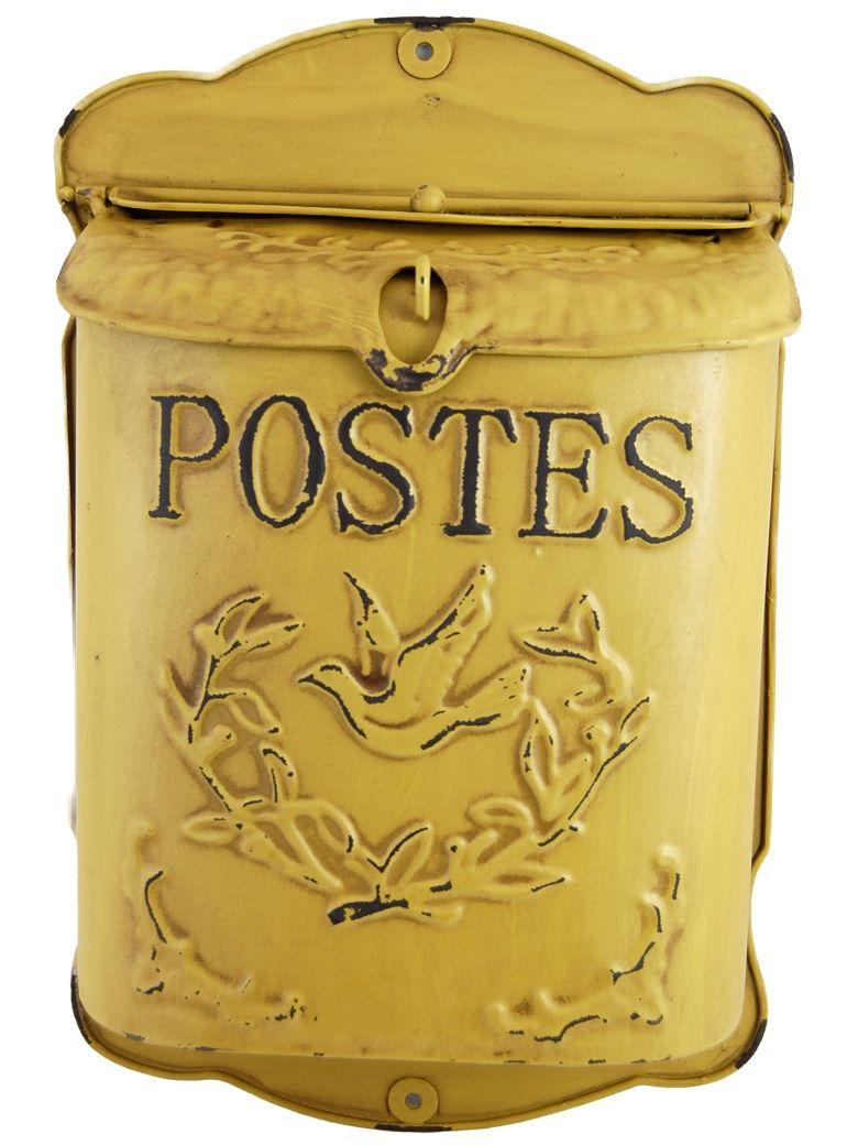 La Boite Jaune Prix boite aux lettres jaune antique - postes (avec images