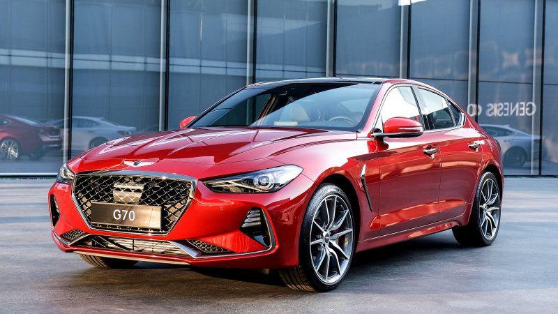 genesis g70 vs sport sedan rivals how it compares on paper hyundai genesis auto motor und sport bmw pinterest