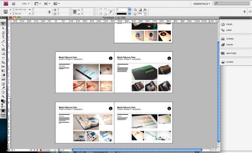 Changed PDF Portfolio Graphix Pinterest Portfolio design