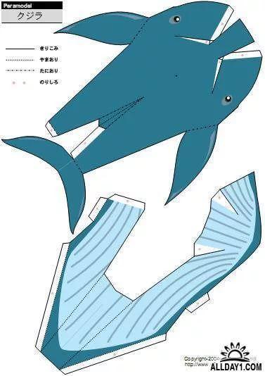 модели из бумаги схемы животные: 19 тыс изображений ...