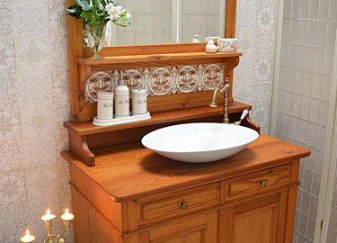 Badezimmermöbel Antik ~ Geburt der gründerzeit waschtisch und badmoebel