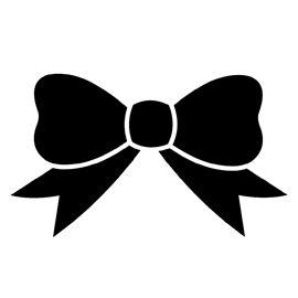 Bow Stencil D