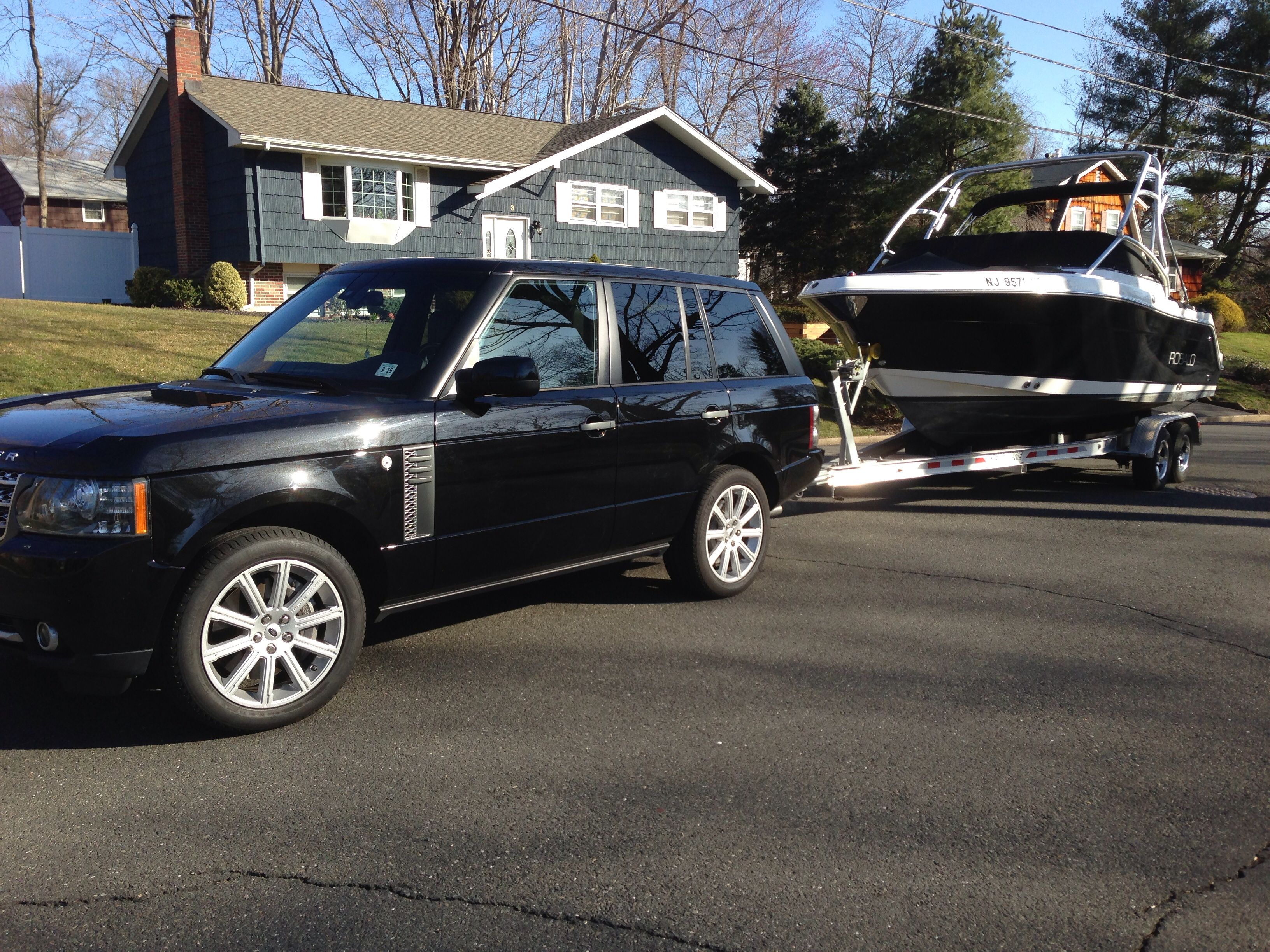 Range Rover Towing Boat Land Rover Pinterest Boats