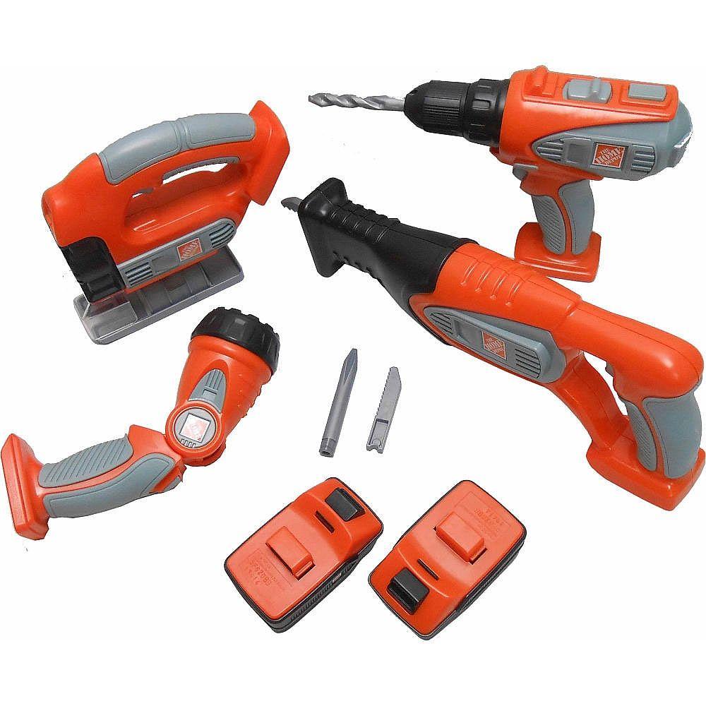 Home Depot Deluxe Power Tool Set - Regent Oriental - Toys\