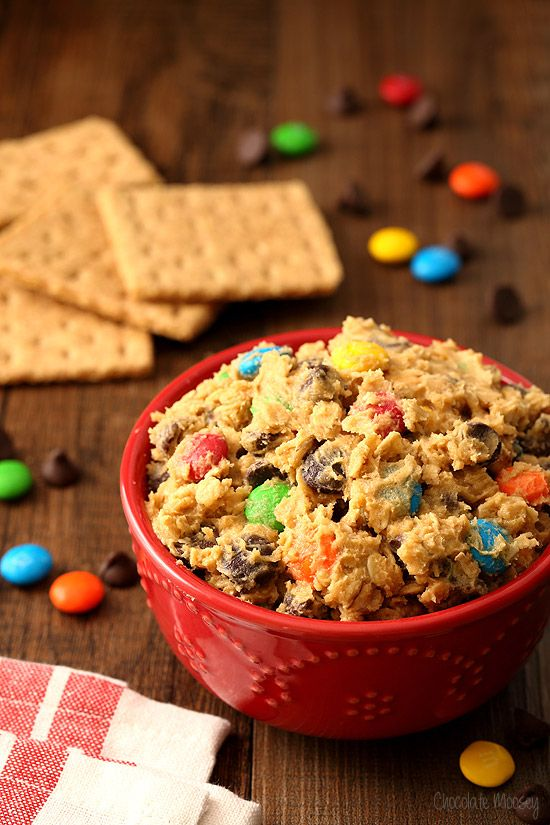 No Bake Monster Cookie Dough Dip Is Everything You Love About Monster Cookie Monster Cookie