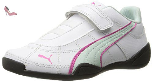 Puma Tune Cat B 2 V Filles US 7 Blanc Baskets Chaussures