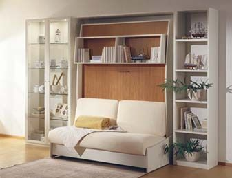sofa bed Transform furniture Pinterest Wall beds Walls and