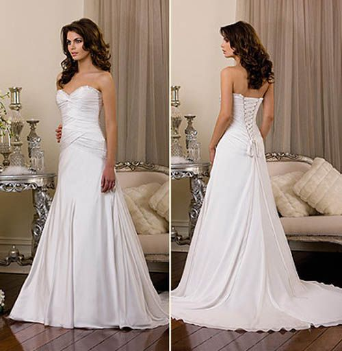 Beautiful Wedding Dress - See Great Wedding Day Ideas at http://MyWeddingPlanningGuide.com