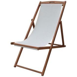 buy deck chair cream at argos co uk visit argos co uk to shop