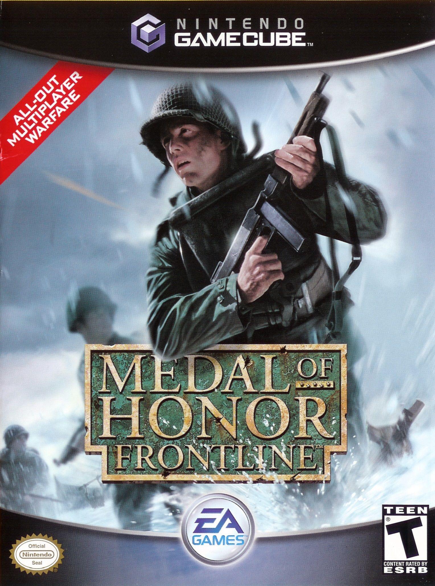 Medal Of Honor Frontline Gamecube Game Consolas Y Videojuegos