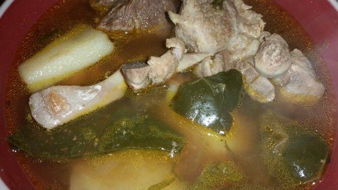 Pork caldo