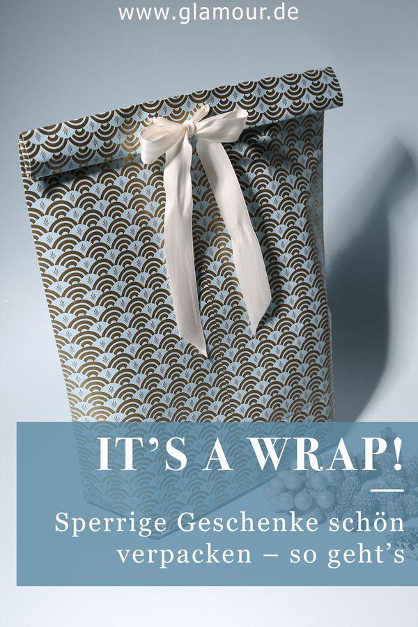 Sperrige Geschenke Verpacken