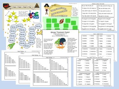 Busy Bee Speech: Apraxia Packet for Later Sounds