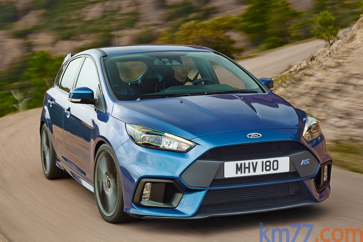 Ford focus rs rs turismo exterior lateral frontal 5 puertas