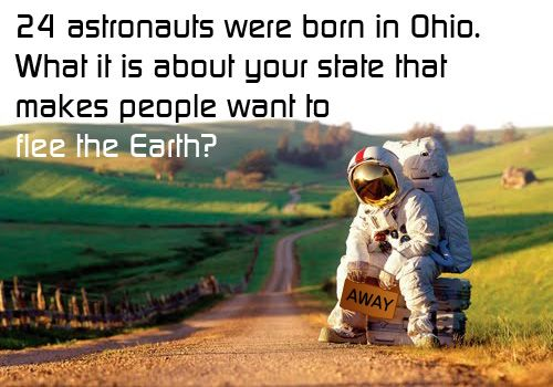 Since I live in Ohio...