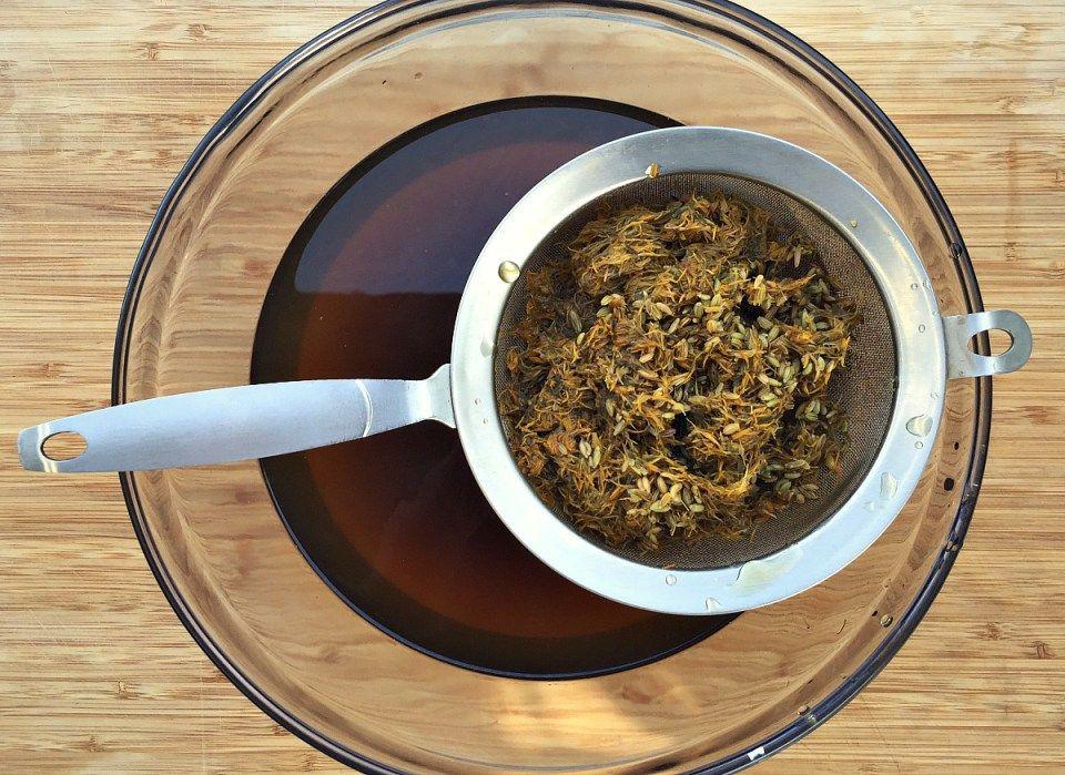 How to make dandelion and fennel kombucha kombucha
