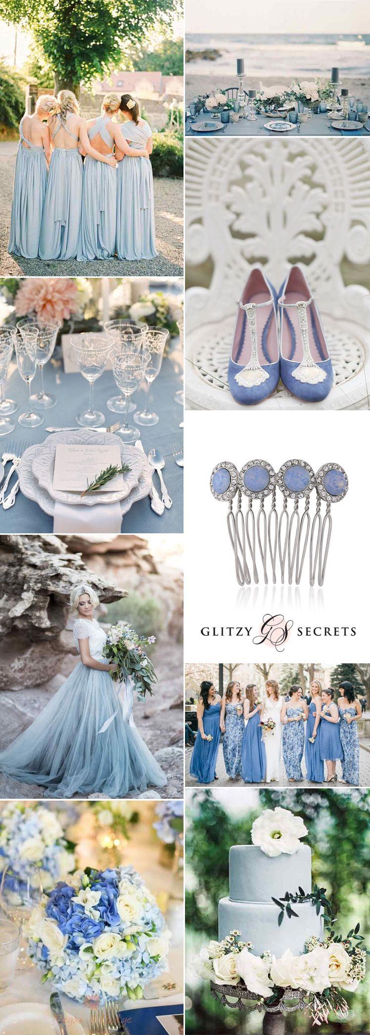 Light blue wedding decoration ideas  Dreamy Wedgwood Blue Wedding Ideas  Trend and Color palette