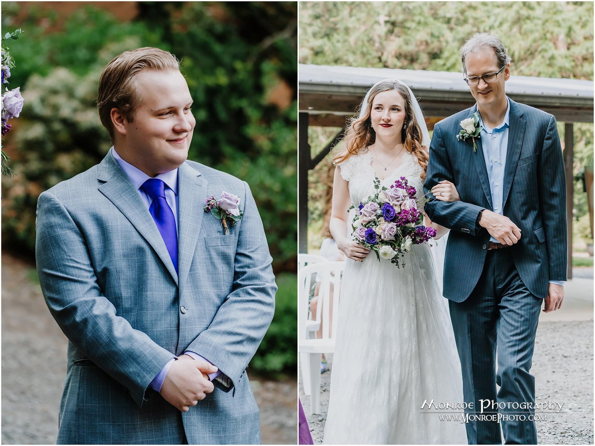@traveloregon   #wedding #pnwphotographer #firstlook #weddingdress #weddingphotography #weddinghairstyles