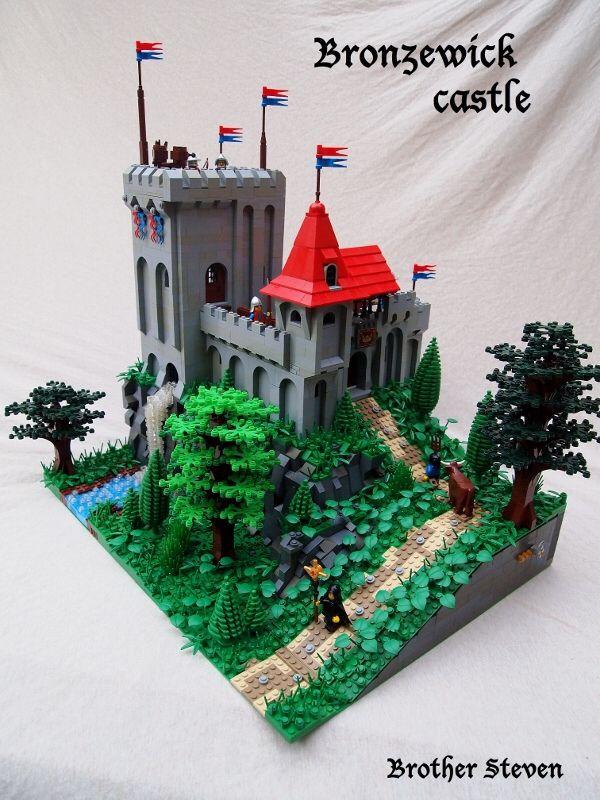 Cccx Castle Entry Legocastle Pinterest Lego Castle Lego And