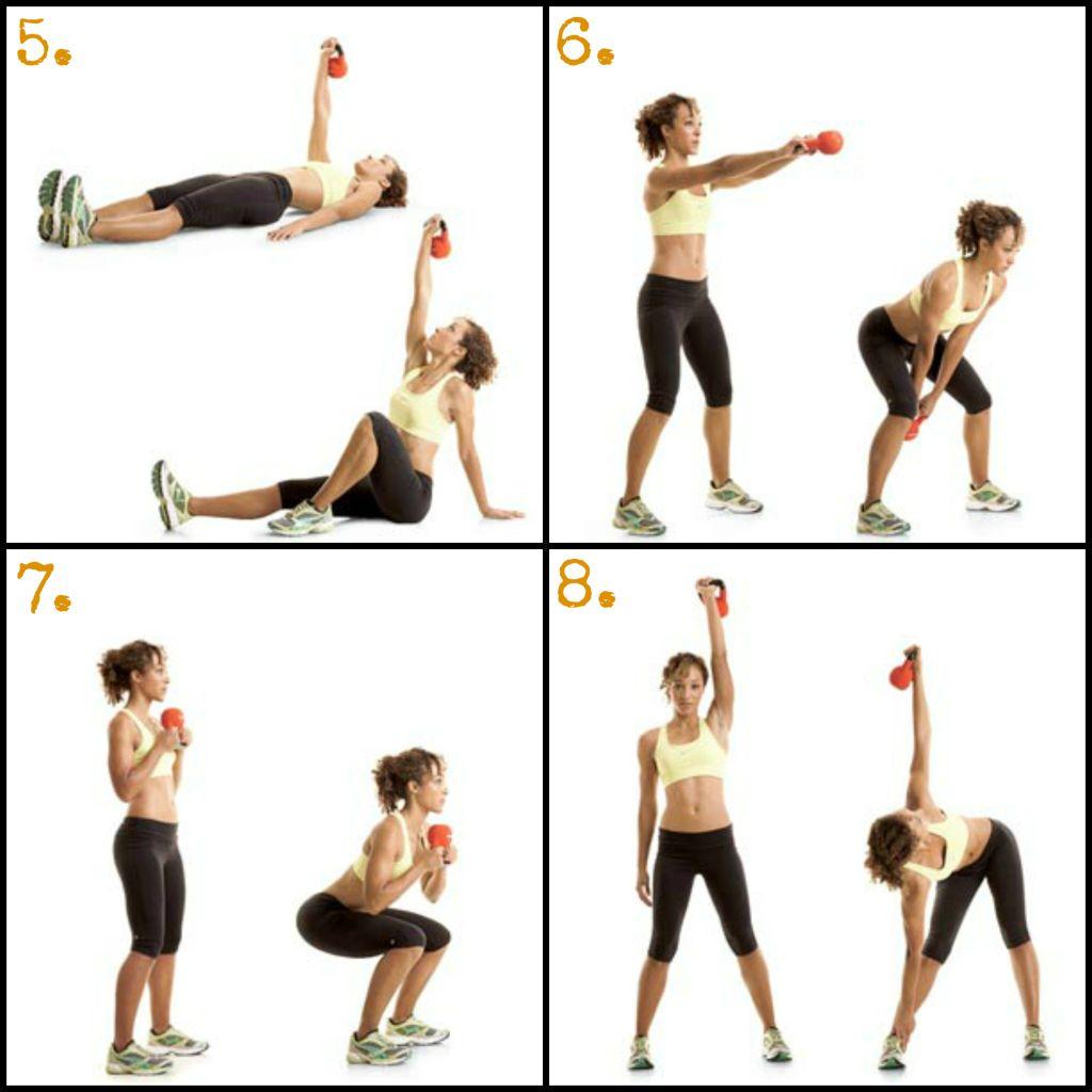 Exercise Kettlebell Figure Eight: Workout, 300 Workout