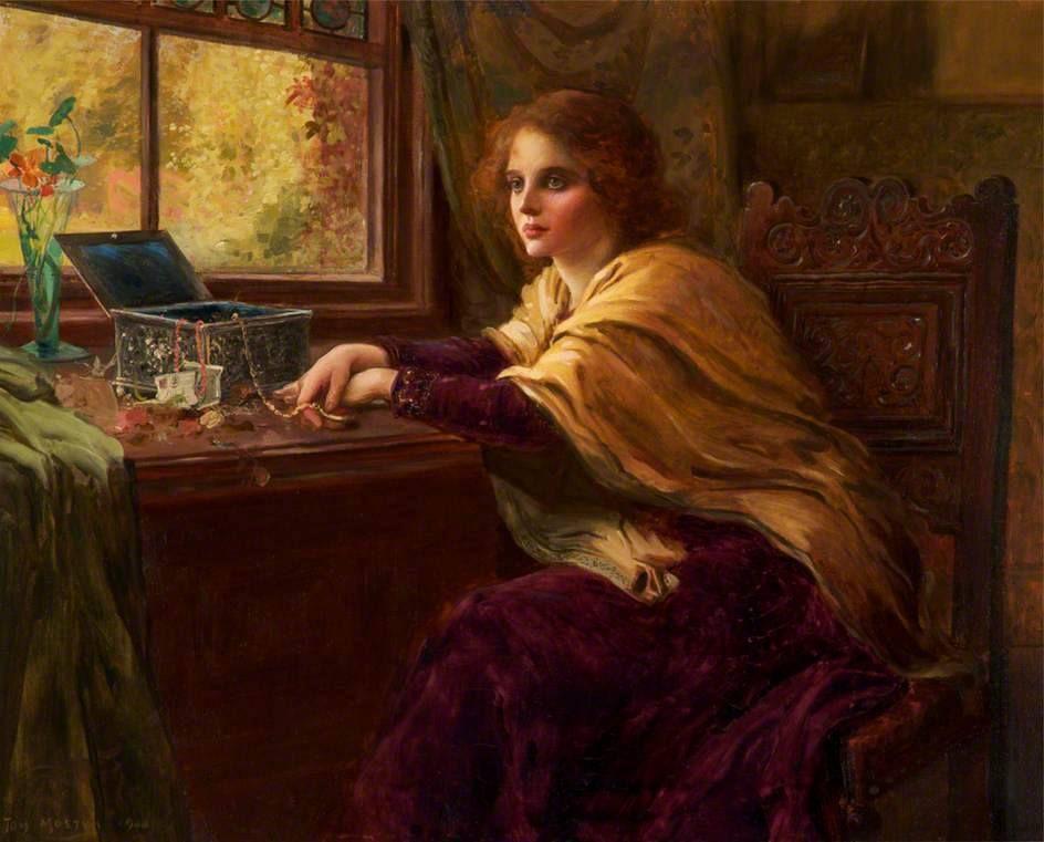 Thomes Edwin Mostyn (1864 – 1930) – Pintor Inglês_6