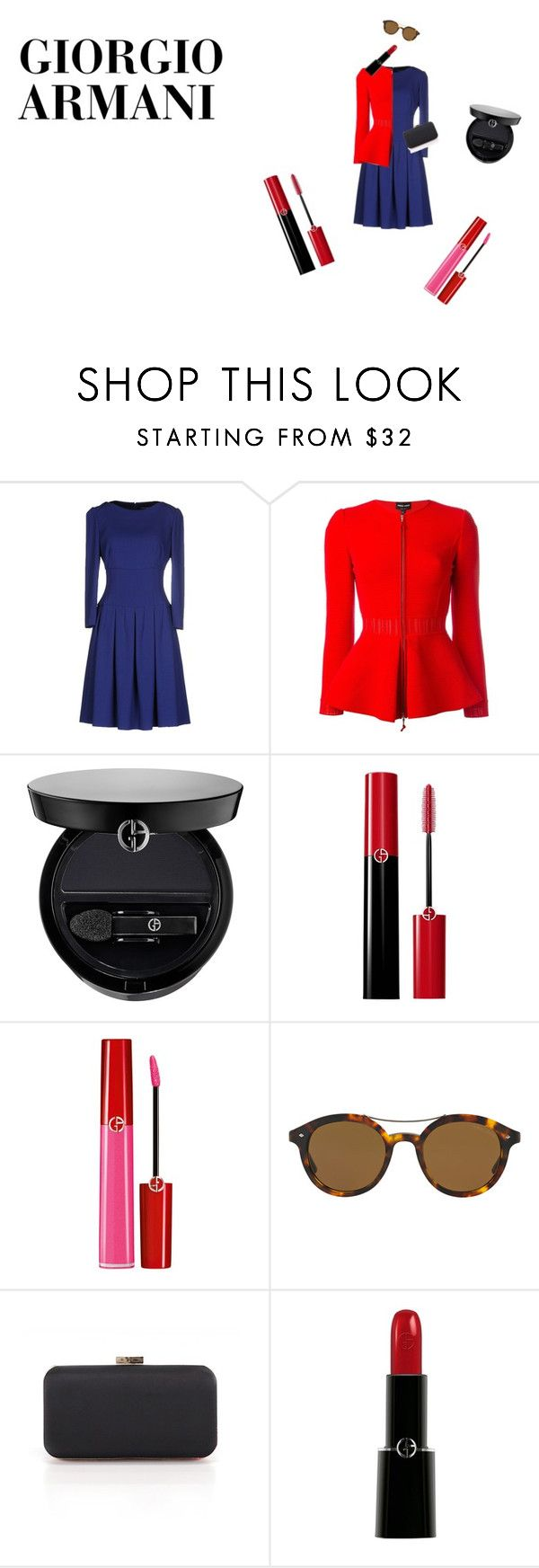"""""""#brand"""" by ermy9 ❤ liked on Polyvore featuring Giorgio Armani"""