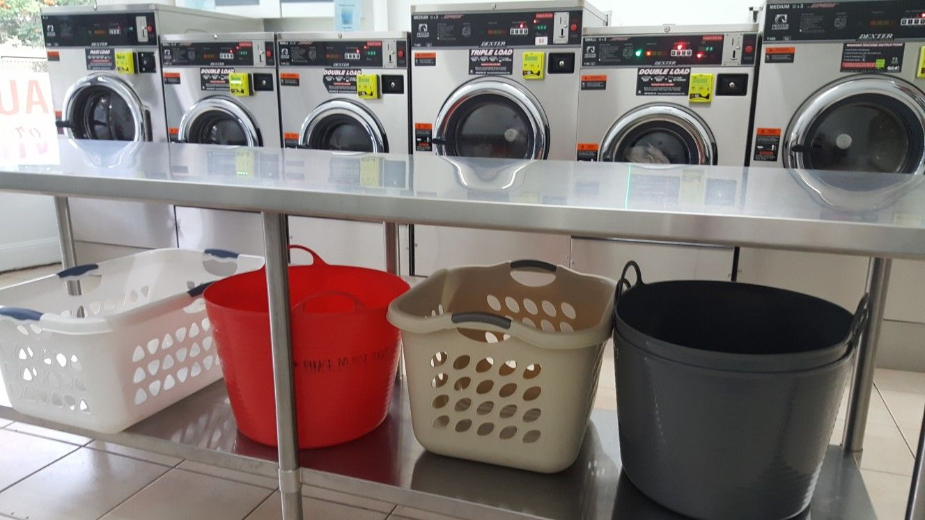 Whatever Type Of Laundry Basket You Have We Have A Dexter Machine To Suit Indooroopillylaundromat Taringa Laundry Room Design Home Appliances Laundromat