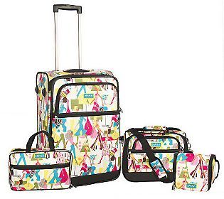 37f2b40b4 Maxx New York Travel Essentials 4-Pc Fashion Luggage Set.....love this set  and I never have any problems finding my luggage at airport.