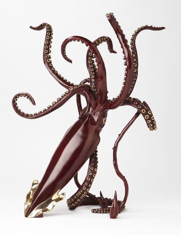 Bronze Sculpture By Sculptor Kirk Mcguire Titled Legend I