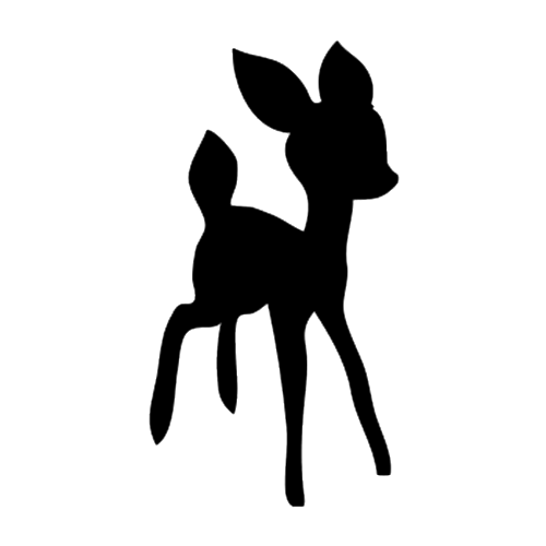 Bambi Die Cut Vinyl Decal Pv768 Vinyl Decals Pinterest