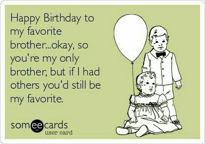 Gefeliciteerd birthday wishes pinterest birthdays birthday free and funny birthday ecard happy birthday to my favorite brother m4hsunfo