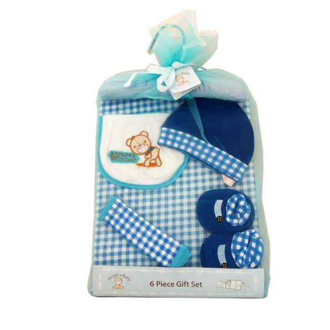Snugly Baby Infant  6 Piece Gift Set,